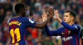 Dembélé, Coutinho, Vidal... Valverde habló de todo. AFP