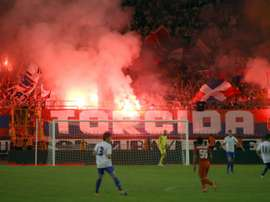 Hajduk Split and Everton have received charges by the UEFA. AFP