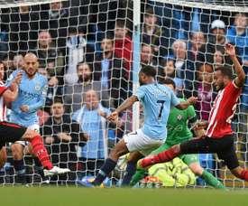 Manchester City Raheem Sterling . AFP