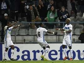 El Auxerre ha dado la gran sorpresa en la Copa de Francia. AFP