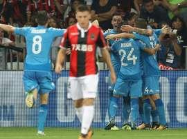 Napoli voltou a levar a melhor sobre o Nice. AFP