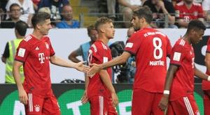 Belle victoire du Bayern. AFP
