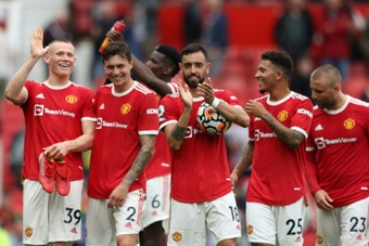 Man United cruised to a 5-1 victory over Leeds on opening day. AFP