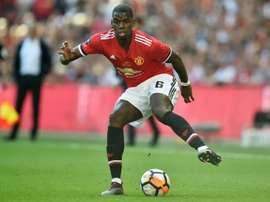 Pogba pourrait necore quitter United. AFP