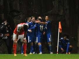 Arsenal, Leicester et la Roma qualifiés, Lille doit patienter, Nice pratiquement éliminés. afp