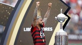 Gabigol, otra opción para el Atlético. AFP