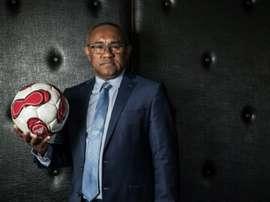 Le président de la Fédération malgache de football et candidat à la présidence de la CAF. AFP