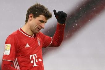 Müller the Bayern positive and misses final. AFP