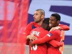 Lille et l'AC Milan filent en 16es, Nice sort par la petite porte. afp