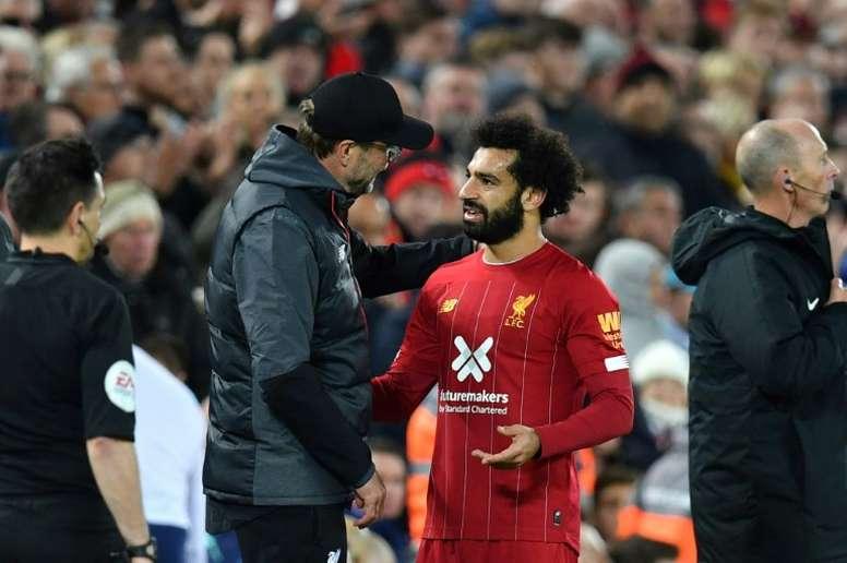 Salah podría participar en los Juegos Olímpicos. AFP