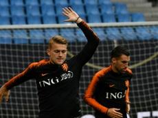 Matthijs de Ligt, la jeunesse au pouvoir chez les Oranje. AFP