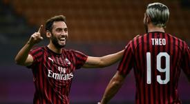 Ibrahimovic et Calhanoglu de retour face au Torino. AFP