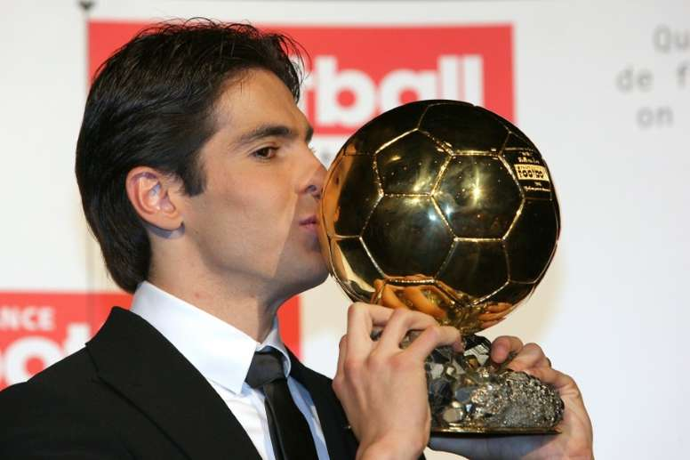 Kaka is set for a stunning return to football. AFP