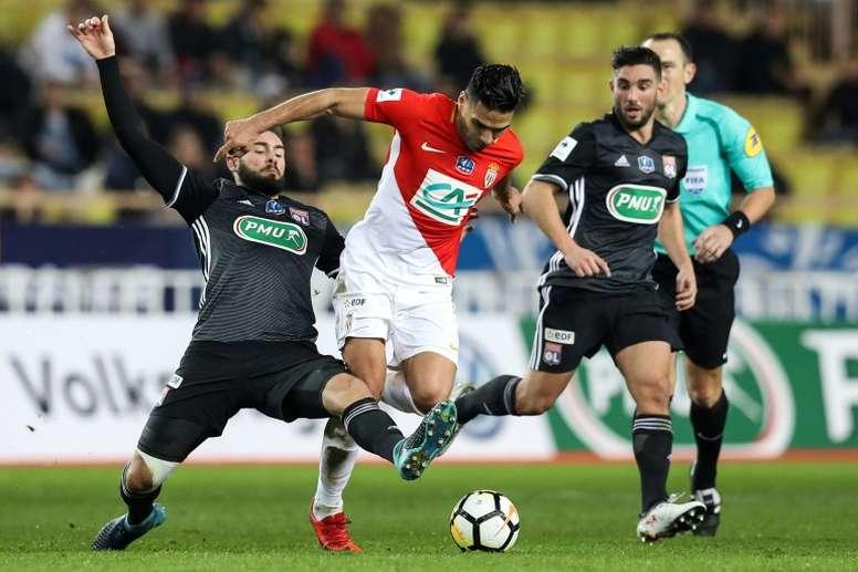 Monaco reçoit Lyon. AFP
