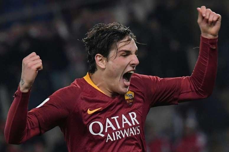 Zanolo crève l'écran avec la Roma. AFP