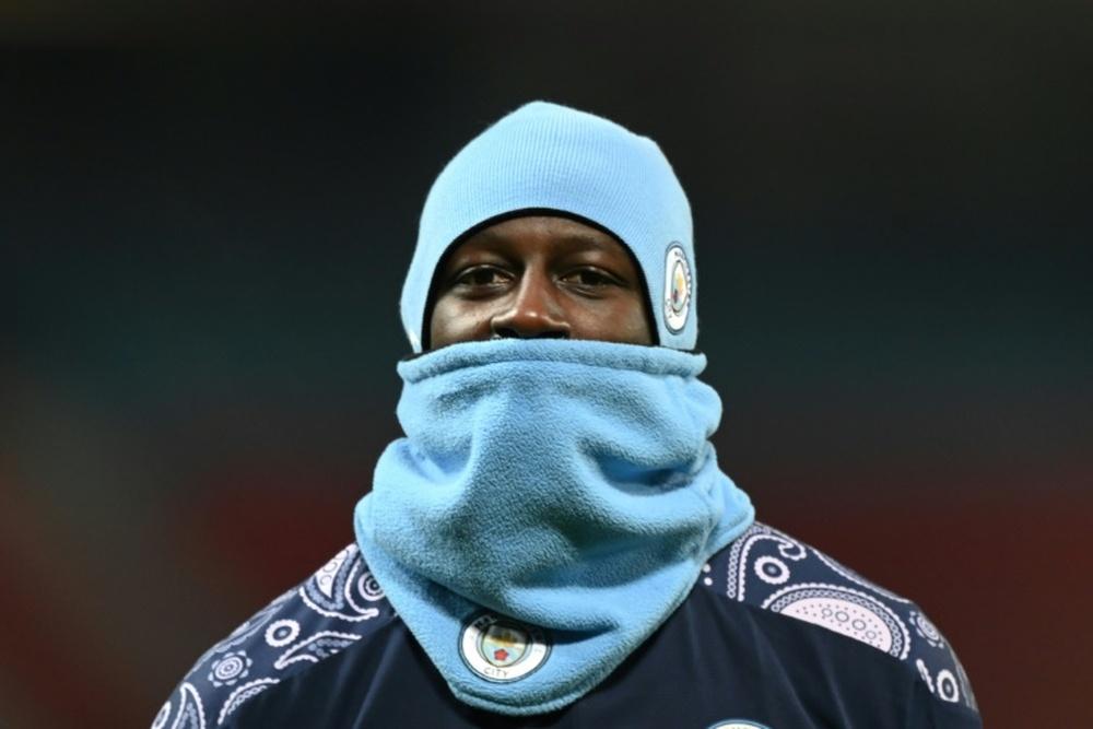 Manchester City : Benjamin Mendy effacé de la boutique du club. AFP