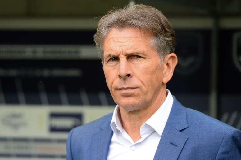 Puel est heureux des trois points pris par les siens à Bordeaux. AFP
