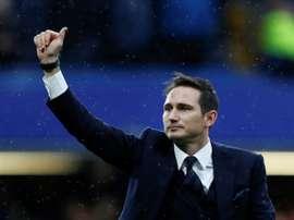 Lampard é o novo treinador do Derby County. AFP