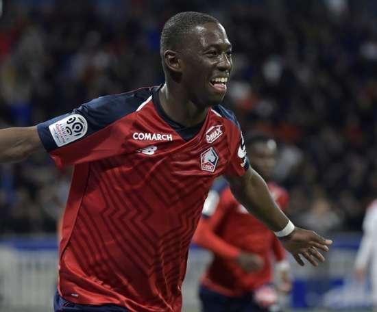 Soumaré fait forte impression à Lille. AFP