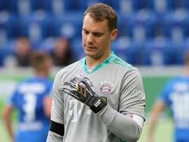 Neuer meilleur gardien UEFA. AFP