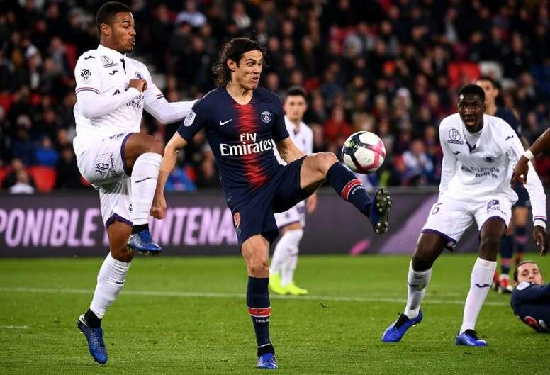 Les compos probables du match de Ligue 1 entre le PSG et Toulouse. AFP