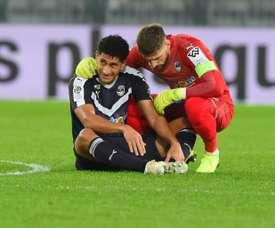Pablo n'avait plus joué depuis le 23 décembre, face à Amiens. AFP