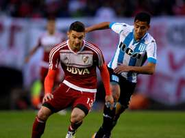 Lucas Alario is set to join Bayer Leverkusen 'in the coming days'. AFP
