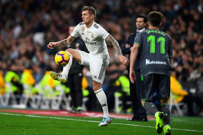 Kroos penserait à quitter le club. AFP