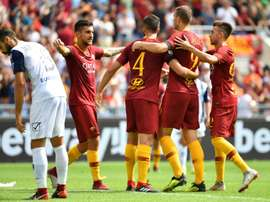 L'AS Rome évite le pire. AFP