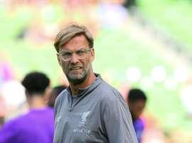 Klopp pidió paciencia a Alemania. AFP