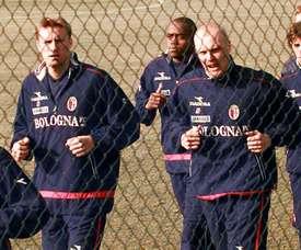 Deux clubs italiens ouvrent leur terrain à leurs joueurs pour s'exercer. AFP