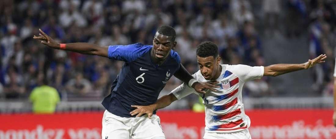 França e EUA empatam a uma bola. EFE