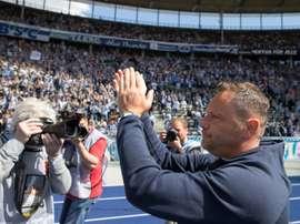 Pal Dardai redevient l'entraîneur du Hertha Berlin. AFP
