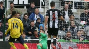 Arsenal réussit son entrée à Newcastle. AFP
