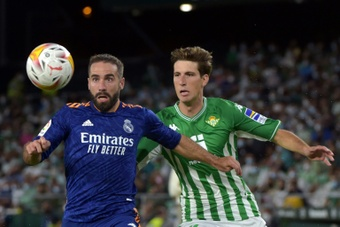 Miranda, baja para recibir al Espanyol. AFP