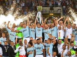 La Lazio se ha impuesto con justicia a la Juve. EFE/Archivo