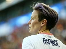 Rapinoe ne participera pas au tournoi de la ligue féminine US. AFP