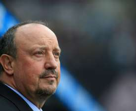 Benitez was not happy with Bruno's comments. AFP