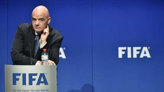 La FIFA annule sa réunion prévue en mars à Asuncion. AFP