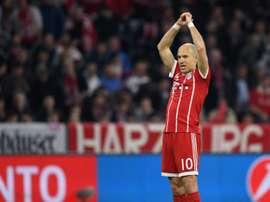 Robben chiarisce la situazione con Kovac. AFP