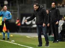 Stéphane Moulin veut les trois points. AFP