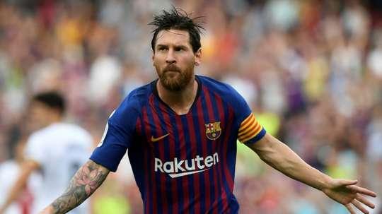 Messi n'a pas voyagé avec l'Argentine. AFP
