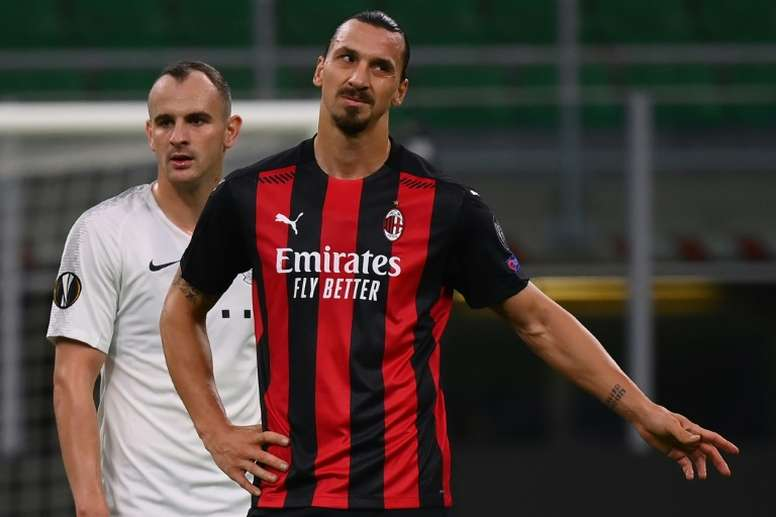 Ibrahimovic is highly valued at Milan. AFP