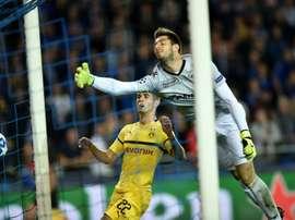 Pulisic, buteur pour Dortmund. AFP