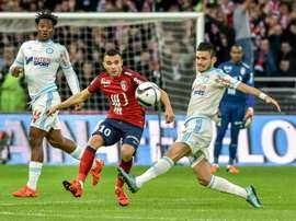 Marvin Martin jugará en el Reims. AFP