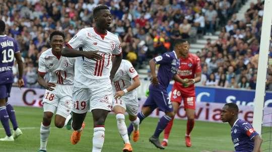 Pépé est sous contrat avec Lille jusqu'en 2022. AFP