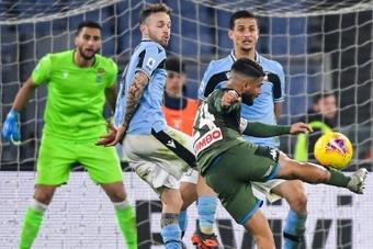 Le formazioni ufficiali di Napoli-Pescara. AFP