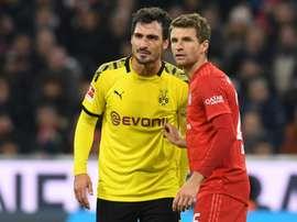 Pas de Mats Hummels contre le Bayern Munich ? AFP