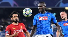 O City sobe a oferta: dois jogadores por Koulibaly. AFP