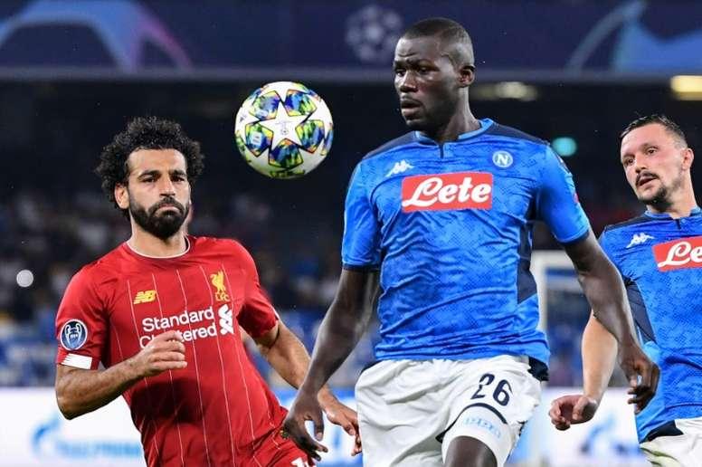 Liverpool rêve de Kalidou Koulibaly. AFP